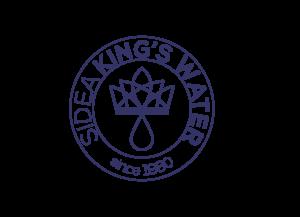 logo minimal sidea king's water