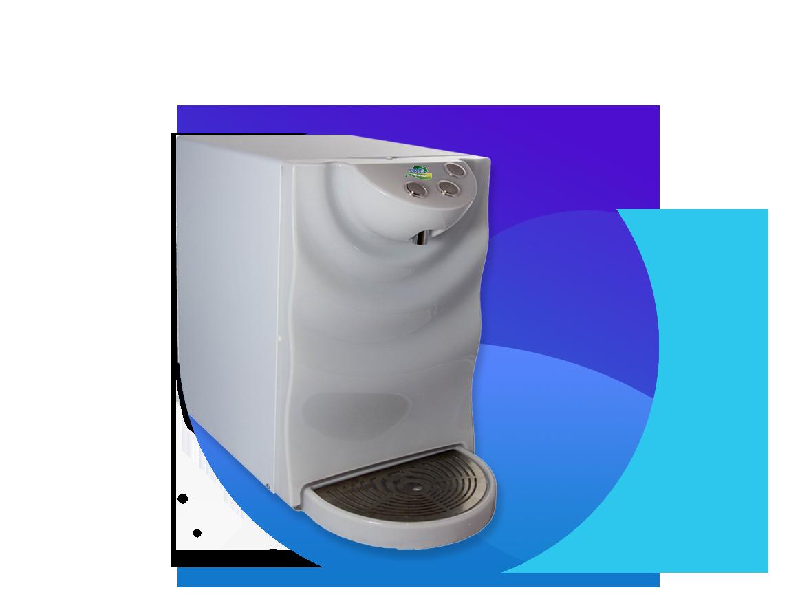 Impianto per il trattamento dell'acqua, modello H2Onda Bianco Perla